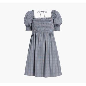 HILL HOUSE The Athena Nap Dress Tai Check 2XL NWOT